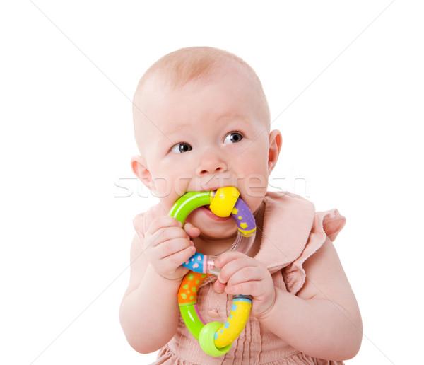 Baby chewing toy Stock photo © sapegina