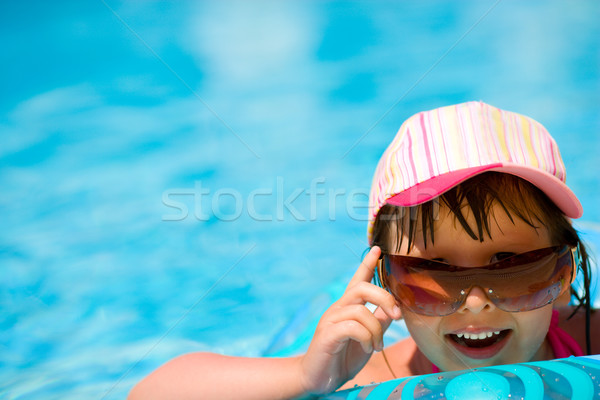 Child in pool Stock photo © sapegina