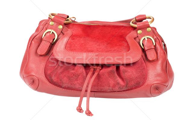 Red purse Stock photo © sapegina