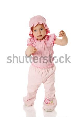 ストックフォト: 最初 · 手順 · 母親 · 手 · 孤立した