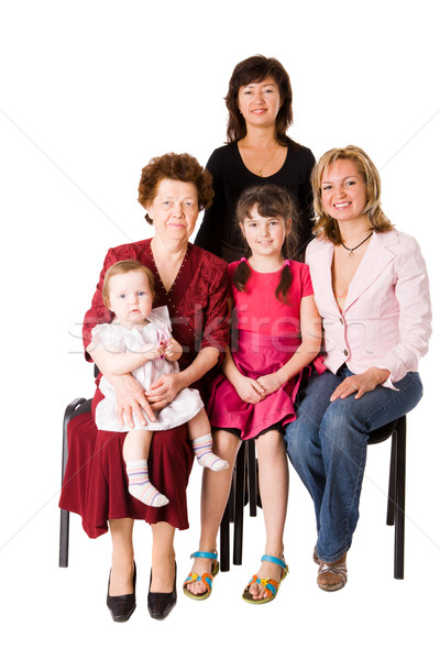 Happy Family Stock photo © sapegina