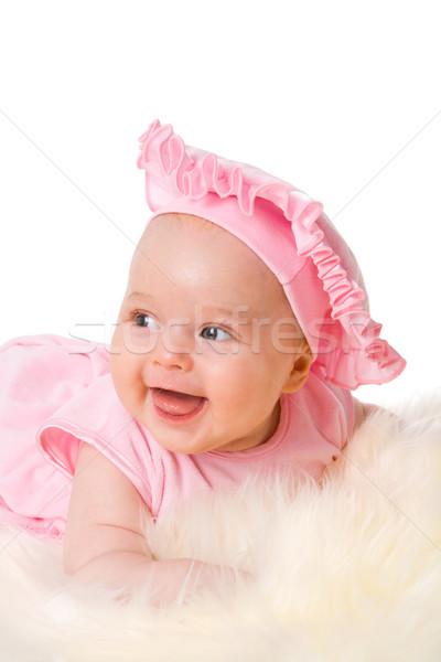 Happy baby Stock photo © sapegina
