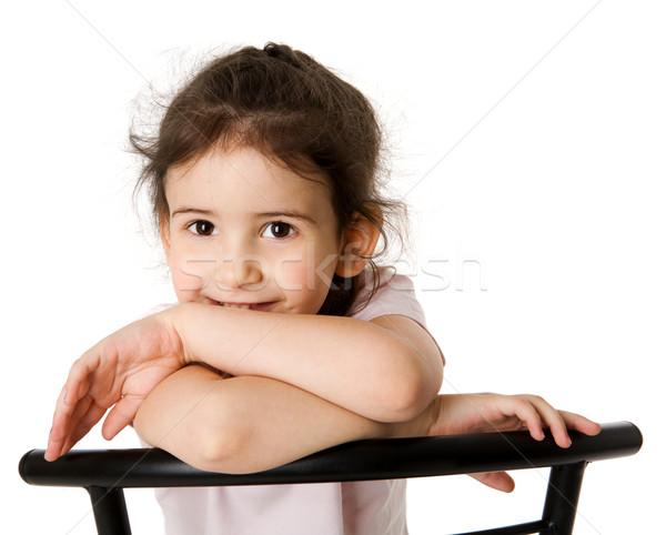 five years girl Stock photo © sapegina