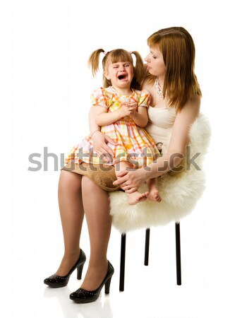 little girl crying Stock photo © sapegina