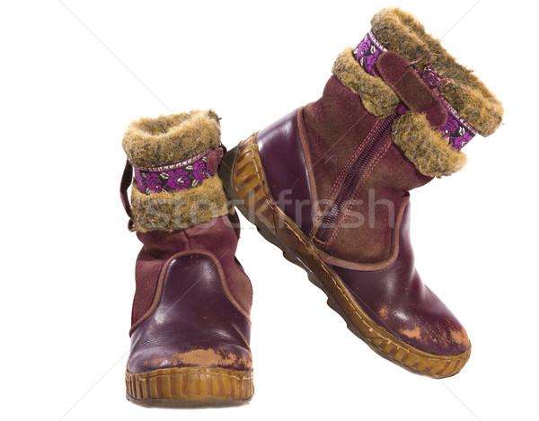 old child shoes Stock photo © sapegina