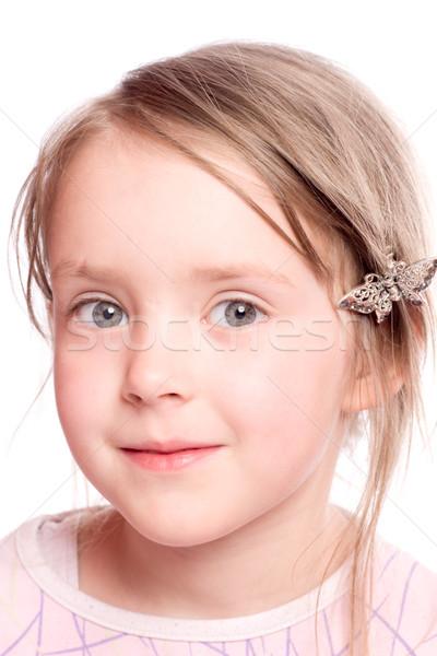 Happy child Stock photo © sapegina