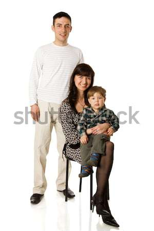 Family portrait Stock photo © sapegina