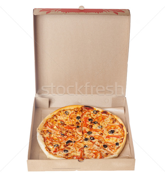 Appetizing Italian pizza Stock photo © sapegina