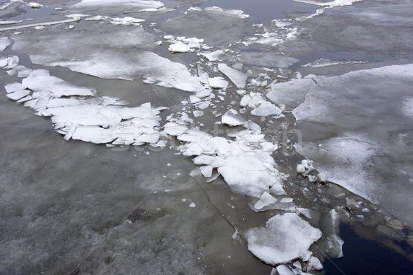 Drifting of ice Stock photo © sapegina