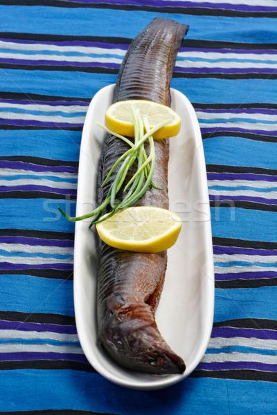 Smoked Eel Stock photo © Saphira