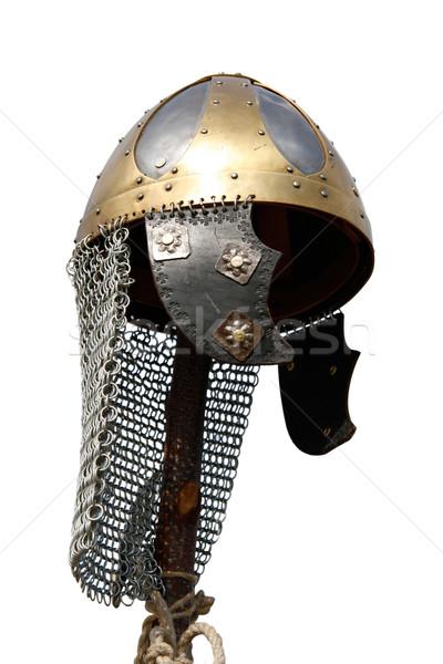 Celtic helmet Stock photo © Saphira