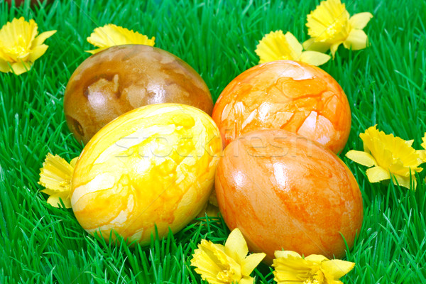 Easter eggs Stock photo © Saphira