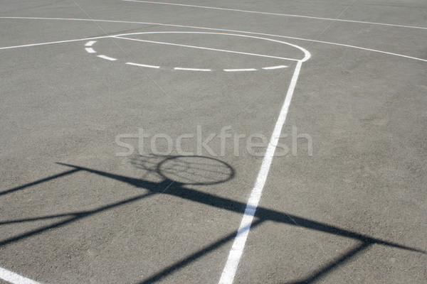 Basketball field Stock photo © Saphira