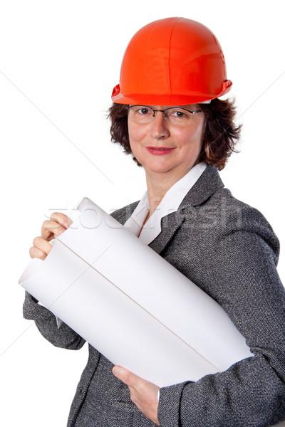 Female architect Stock photo © Saphira