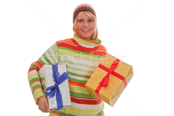 Christmas gifts Stock photo © Saphira