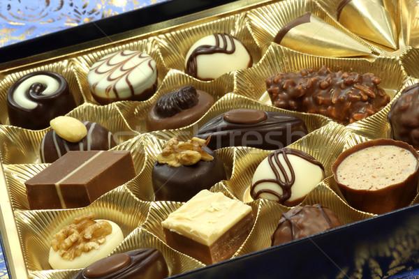 Zoete snoep noten banketbakkerij Stockfoto © Saphira