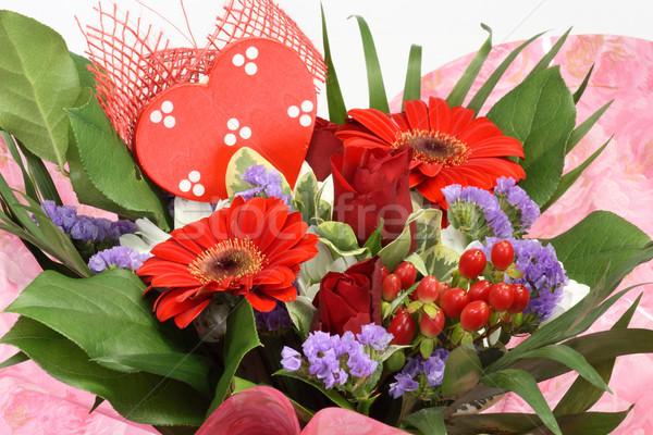 花 バレンタインデー クローズアップ 花 アレンジメント 美 ストックフォト © Saphira