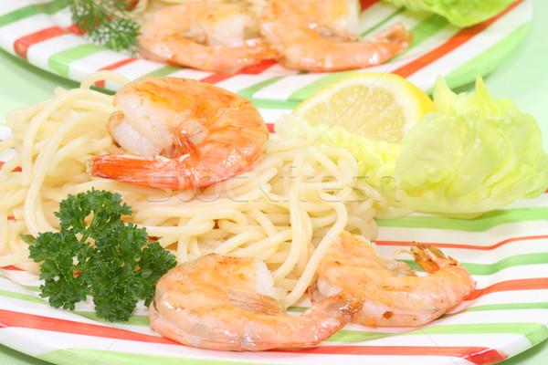 Spaghetti Italiaans diner keuken koken maaltijd Stockfoto © Saphira