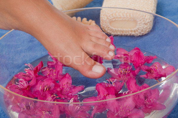 Refreshing footbath Stock photo © Saphira