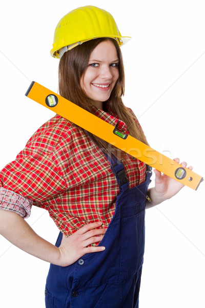 Jeune femme affaires femme travaux Photo stock © Saphira