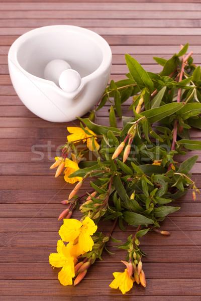 油 スパ 黄色 新鮮な スキンケア ストックフォト © Saphira