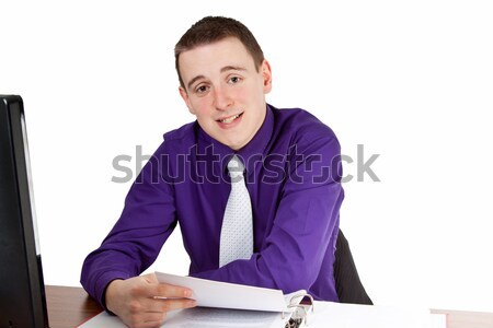 Young employee Stock photo © Saphira