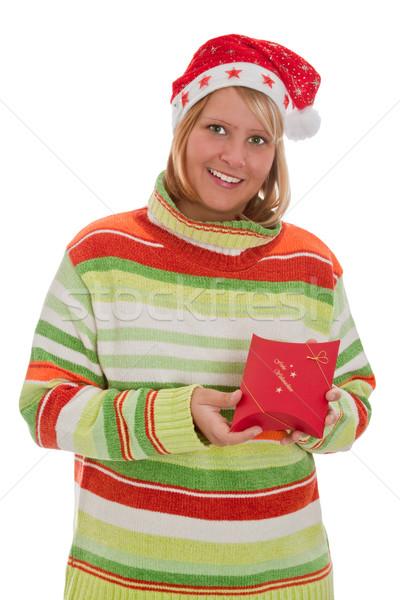 Christmas surprise Stock photo © Saphira