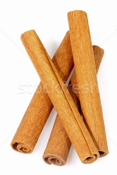 Kaneel vier koken christmas Spice schors Stockfoto © Saphira