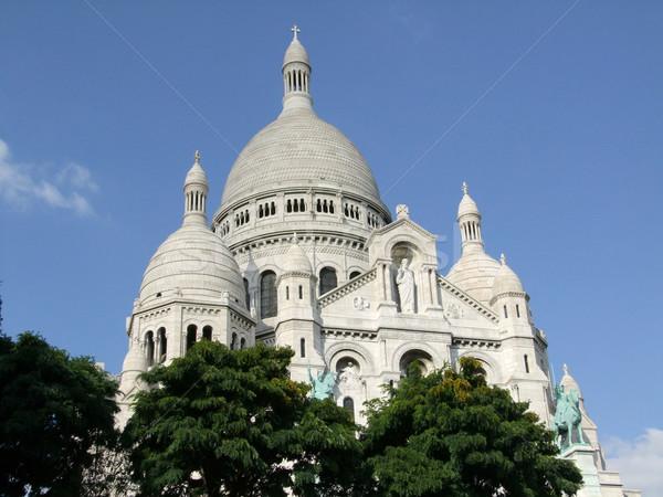 Basílica céu igreja azul viajar turismo Foto stock © Saphira