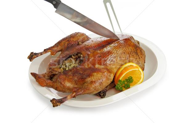 Crunchy goose Stock photo © Saphira