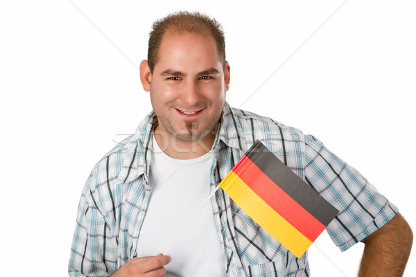German fan Stock photo © Saphira