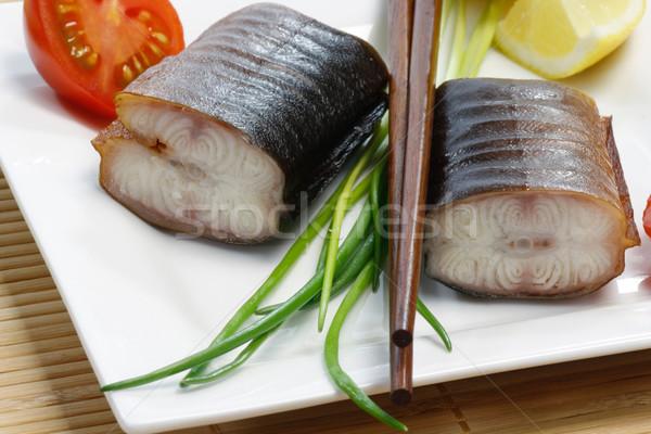 Eel Appetizer Stock photo © Saphira