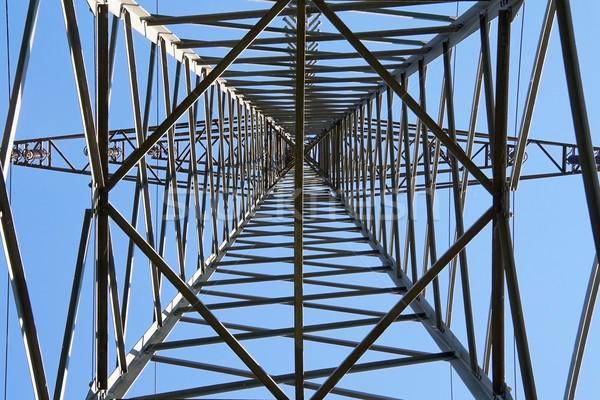Electricity pylon Stock photo © Saphira