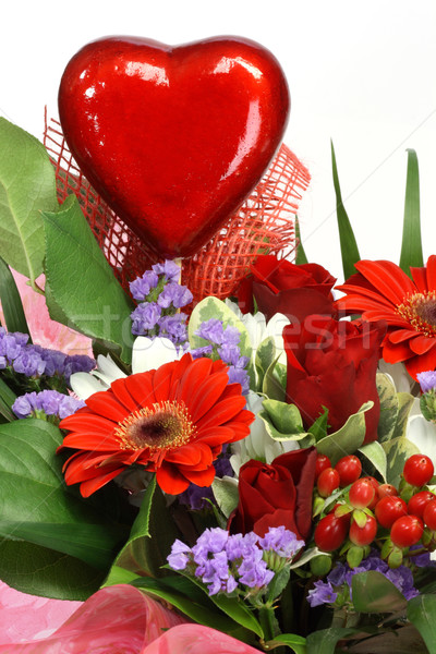 Flowers for valentines day Stock photo © Saphira