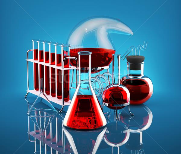 Chemical reaction  Stock photo © Saracin