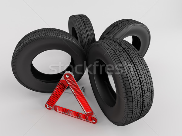 Replacement wheels Stock photo © Saracin