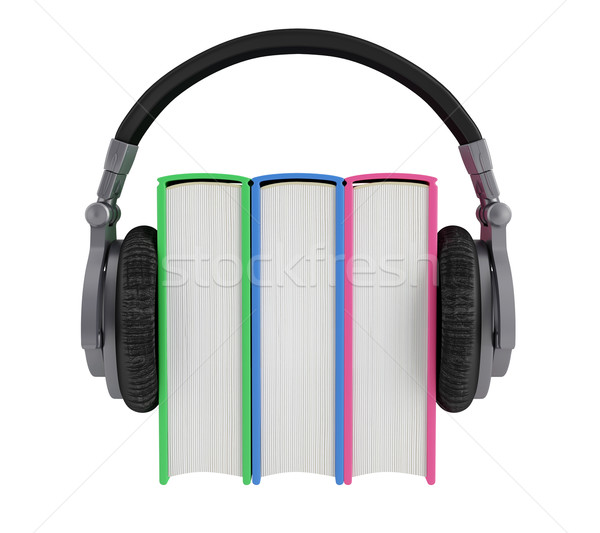 Audiobook Stock photo © Saracin