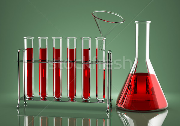 Chemical dosing of the drug Stock photo © Saracin