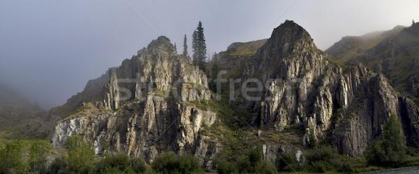 горные дороги впечатляющий мнение Top природы Сток-фото © Saracin