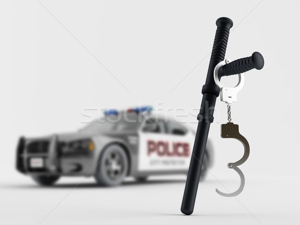 Police special equipment Stock photo © Saracin