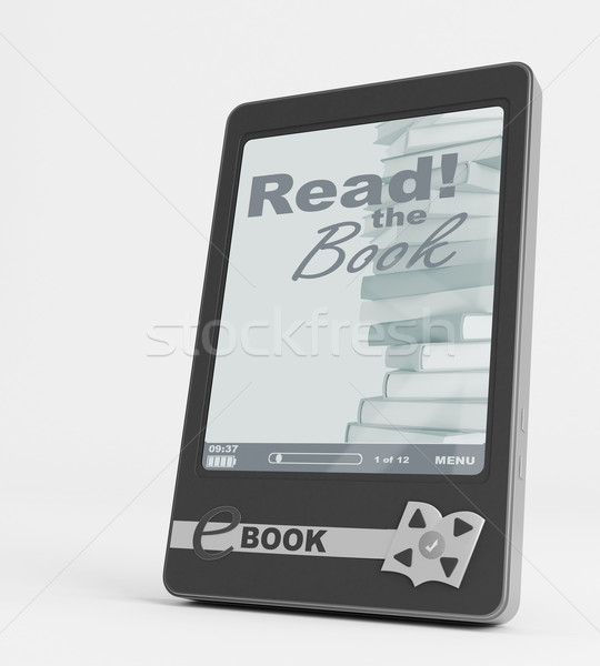 Foto stock: Ebook · palabras · Screen · libros · tecnología