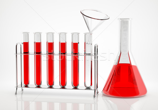 Chemical Analysis Stock photo © Saracin