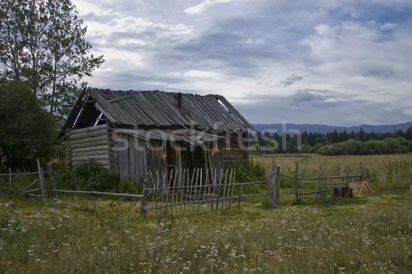 Abandoned house Stock photo © Saracin