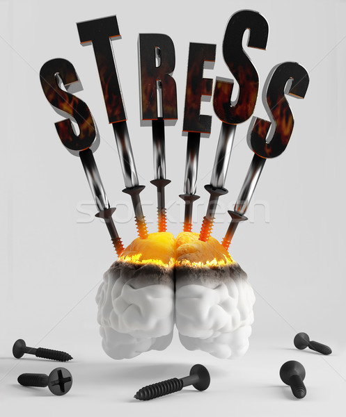 Stress Stock photo © Saracin