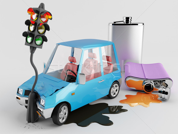 Cars and Alcohol  Stock photo © Saracin