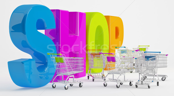 Preparation for Shopping Stock photo © Saracin