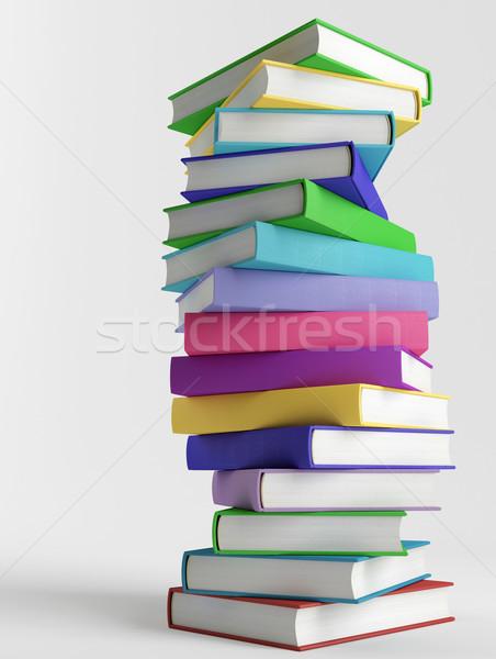 красочный книгах бумаги образование чтение Сток-фото © Saracin
