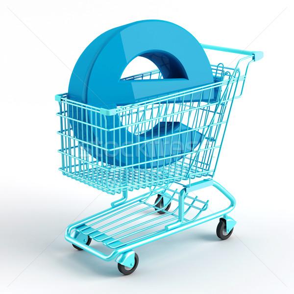 торговых символ электронной коммерции бизнеса магазине Сток-фото © Saracin