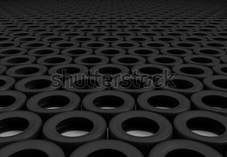 Field of wheels Stock photo © Saracin