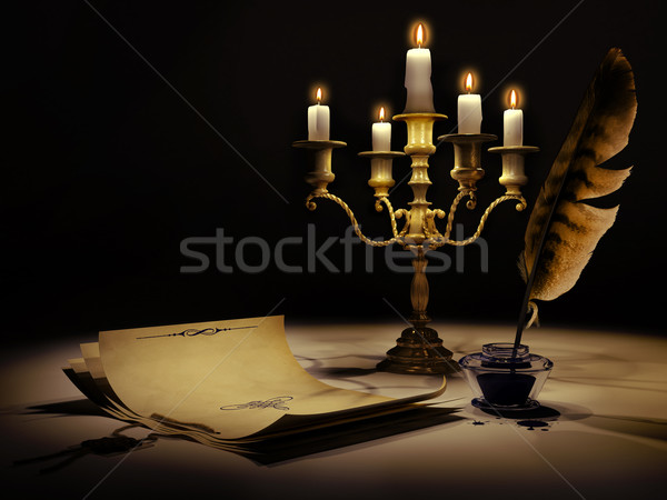 Stock photo: Medieval style 2
